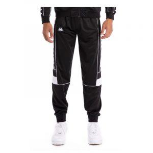 Kappa Banda Memzz Track Pants Black-White-Black