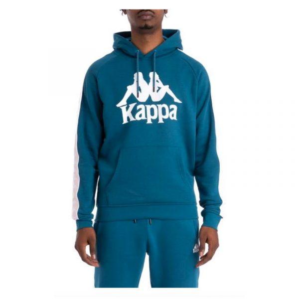 Kappa Hurtado Hoodie Blue Petrol-Pink