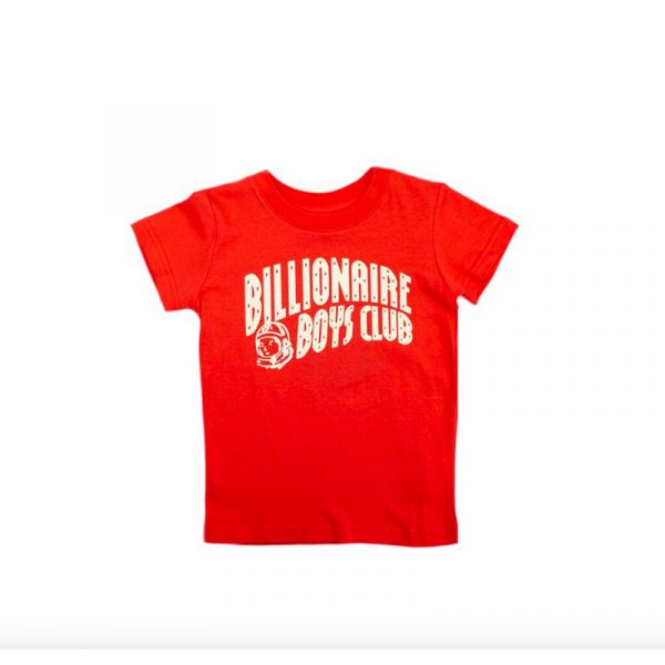 Kids Billionaire Boys Club Arch SS Tee Red/White