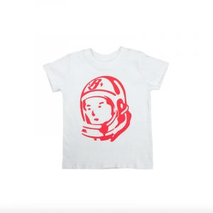 Kids Billionaire Boys Club Helmet SS Tee White