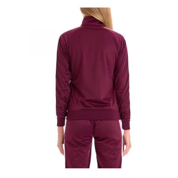 womens anniston track jacket violet-pink