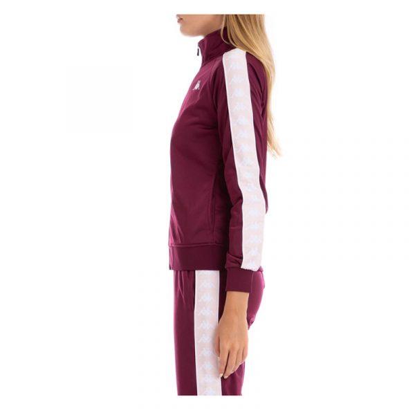womens kappa anniston track jacket violet