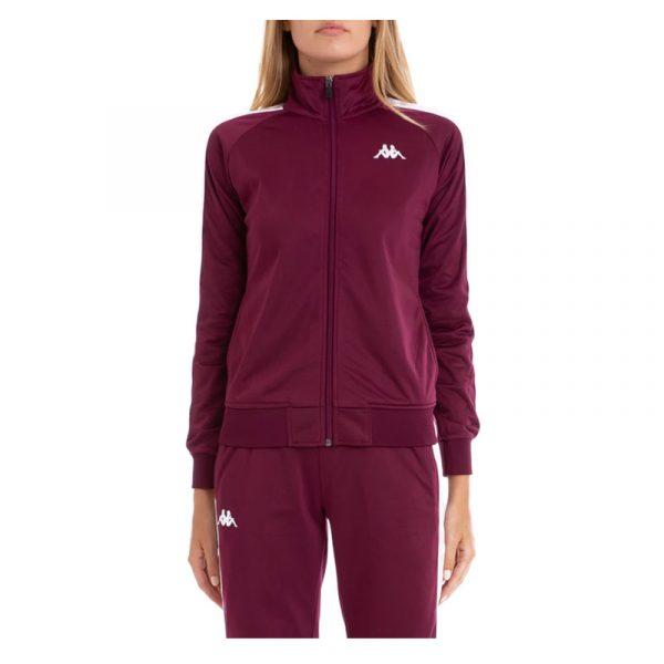 Womens Kappa Anniston Track Jacket Violet-Pink