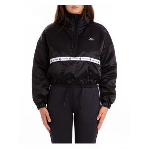 Womens Kappa Balti Japan Jacket Black-White
