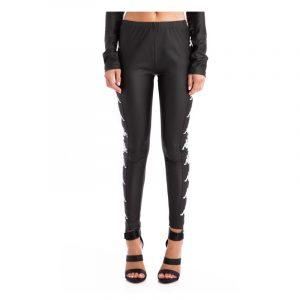 Womens Kappa Banda Biabon Pants Black-White