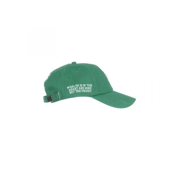 Billionaire Boys Club HM Dad Hat Green Side