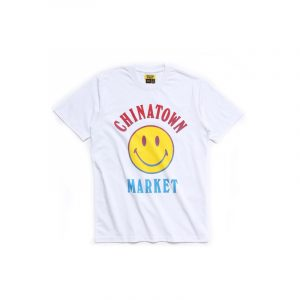 Chinatown Market Smiley Logo Tee White