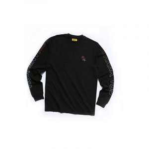 Chinatown Market Thank You Long Sleeve Black