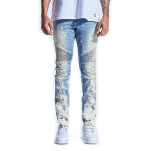 crysp denim skywalker denim indigo paint