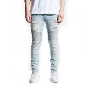 Embellish Hornsby Biker Denim