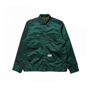 "Publish ""Glaze"" Jacket Green"