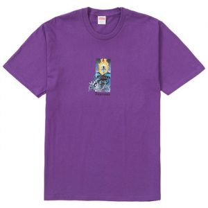 Supreme Ghost Rider Tee Purple