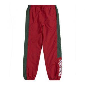 Supreme Side Logo Track Pants Red