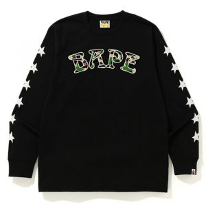 Bape ABC Camo 88 Tee Black Front