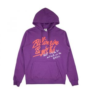 Billionaire Boys Club mind Hoodie Majesty Purple