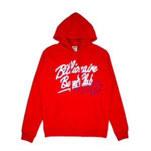 Billionaire Boys Club mind Hoodie Red