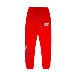 Billionaire Boys Club Wealth Pants Red