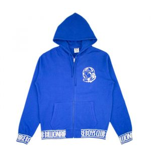 Billionaire Boys Club Zip Hoodie Blue