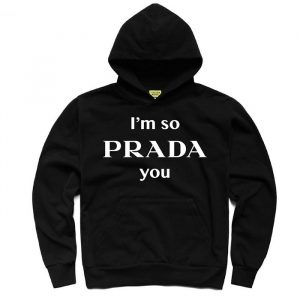 Chinatown Market Prada You Hoodie Black