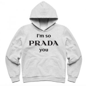 Chinatown Market Prada You Hoodie Grey