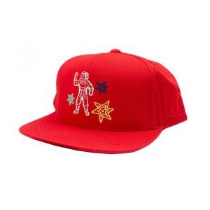 Billionaire Boys Club BB Astro Star Hat Red