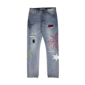 Billionaire Boys Club Star Palm Jeans Front